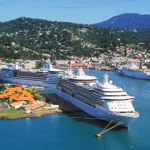 Castries Harbour CruiseShips
