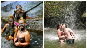 mudbath & waterfall tour